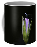 The Dragonfly And The Water Lily  Coffee Mug