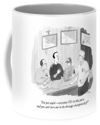 The Dressage Fan Coffee Mug