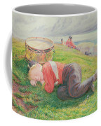 The Drummer Boy's Dream Coffee Mug by Frederic James Shields