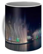 The Dubai Fountain At Burj Khalifa Coffee Mug