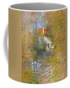 The Duck Pond Coffee Mug by Claude Monet