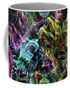The Duel Of The Dragons  Coffee Mug
