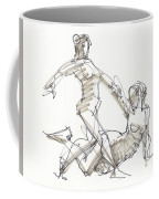 The Duo Coffee Mug by Judith Kunzle