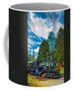 The Durbin Rocket - Paint Coffee Mug