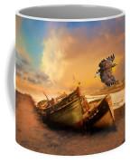 The Eagle And The Boat Coffee Mug