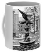 The Eagle - Widener University In Black And White Coffee Mug