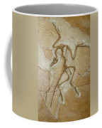 The Earliest Bird, Archaeopteryx Coffee Mug by Jason Edwards