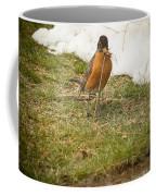 The Early Bird - Robin - Casper Wyoming Coffee Mug