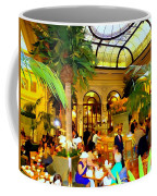 The Easter Holiday Tea At The Palm Court Coffee Mug