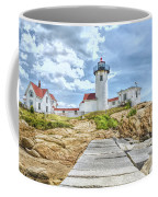 The Eastern Point Lighthouse In Gloucester Coffee Mug