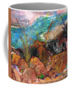 The Edge Of The Cliff Coffee Mug