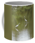 The Egret Pond Coffee Mug