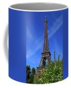 The Eiffel Tower In Spring Coffee Mug