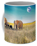 The Elephant Herd Coffee Mug