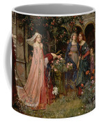 The Enchanted Garden Coffee Mug by John William Waterhouse