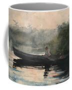 The End Of The Day Adirondacks Coffee Mug
