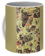 The English Postage Scene Coffee Mug