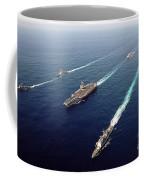 The Enterprise Carrier Strike Group Coffee Mug by Stocktrek Images