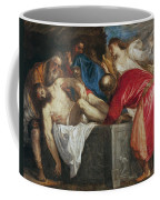 The Entombment Of Christ Coffee Mug by Titian