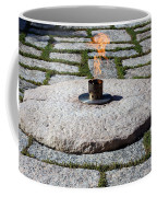 The Eternal Flame At President John F. Kennedy's Grave Coffee Mug