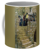 The Evil Counsel Of Caiaphas Coffee Mug by Tissot