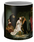 The Execution Of Lady Jane Grey Coffee Mug by Hippolyte Delaroche