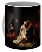 The Execution Of Lady Jane Grey In The Tower Of London In The Year 1554 Coffee Mug