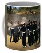 The Execution Of The Emperor Maximilian Coffee Mug