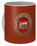 The Eye Of Horus Coffee Mug by Serge Averbukh