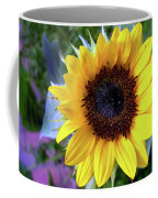 The Eye Of The Flower Coffee Mug