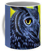 The Eye Of The Owl -the  Goobe Series Coffee Mug