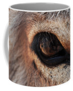 The Eye Of A Burro Coffee Mug