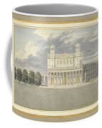The Fa?ade And Suroundings Of A Cathedral For Berlin Coffee Mug