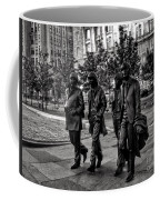 The Fab Four In Black And White Coffee Mug