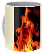 The Face Of Fire Coffee Mug