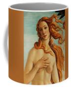The Face Of Venus Coffee Mug