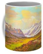 The Fall Colors Of Alaska Route 8 No.3 Coffee Mug