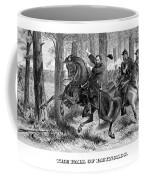 The Fall Of Reynolds - Civil War Coffee Mug