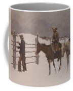 The Fall Of The Cowboy Coffee Mug by Frederic Remington