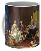 The Family Of Philip Of Parma  Coffee Mug