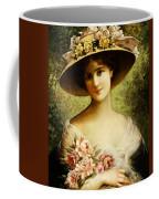 The Fancy Bonnet Coffee Mug by Emile Vernon
