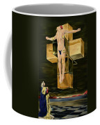 The Father Is Present -after Dali- Coffee Mug