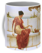 The Favorite Coffee Mug by John William Godward