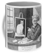 The Favourite Cat And De La Tour The Painter Coffee Mug