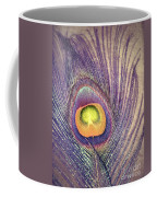 The Feather In Colour Coffee Mug