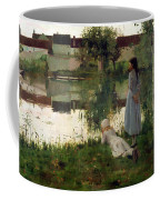 The Ferry Coffee Mug by William Stott