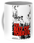 The Fighting Rats Of Tobruk  Theatrical Poster 1944 Color Added 2016 Coffee Mug