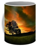The Fire On The Skies Coffee Mug