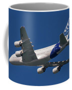 The First Airbus A380. Coffee Mug