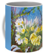 The First Flowers After Winter Coffee Mug
